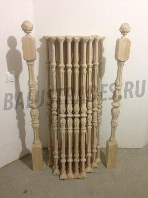 Деревянные балясины для лестницы: установка и крепление